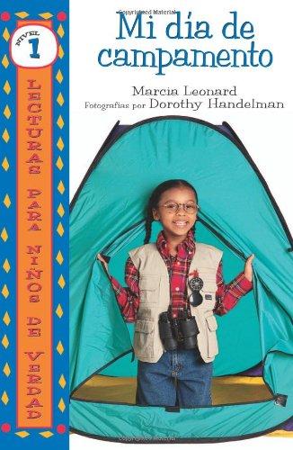 9780822577980: Mi Dia de Campamento (Lecturas Para Ninos De Verdad - Nivel 1/Real Kids Readers - Level 1)
