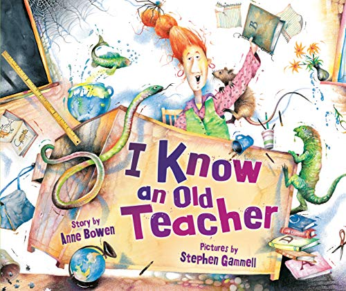 9780822579847: I Know an Old Teacher (Carolrhoda Picture Books)