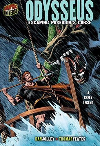 9780822585152: Odysseus: Escaping Poseidon's Curse: A Greek Legend (Graphic Myths and Legends)