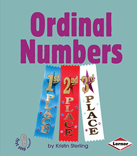 9780822588467: Ordinal Numbers (First Step Nonfiction Early Math Set II)
