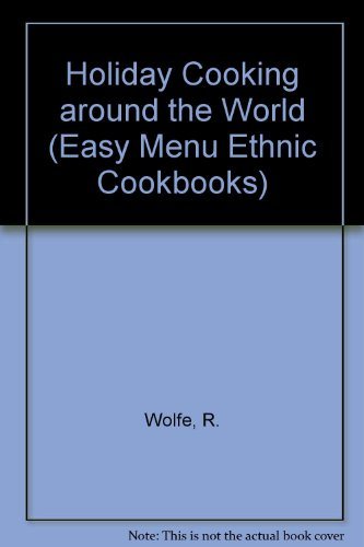 9780822595731: Holiday Cooking: Around the World (Easy Menu Ethnic Cookbooks)