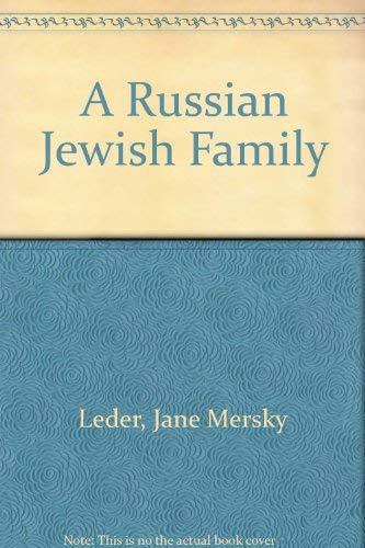 9780822597445: A Russian Jewish Family