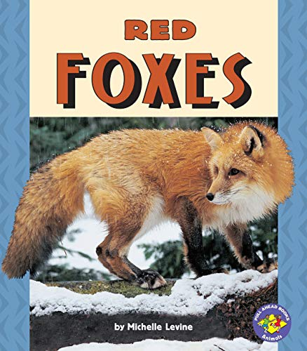9780822598879: Red Foxes (Pull Ahead Books)
