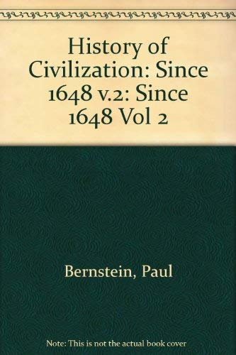 9780822600657: History of Civilization, Vol. 1: To 1648