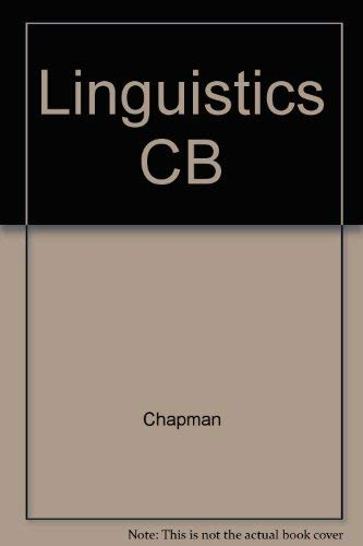 Linguistics and Literature: An Introduction to Literary: Chapman, Raymond