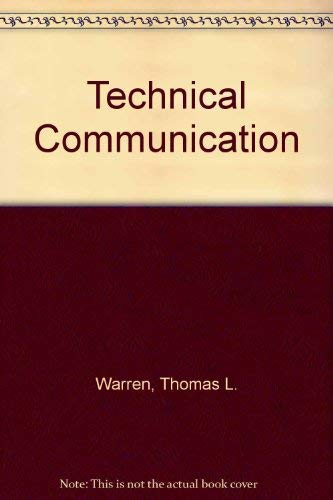 Technical Communication an Outline (A Littlefield, Adams quality paperback ; no. 332): Thomas ...