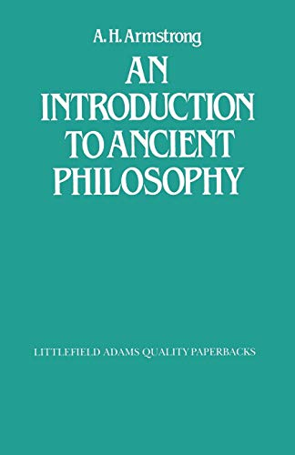 9780822604181: An Introduction to Ancient Philosophy (Littlefield, Adams Quality Paperback)