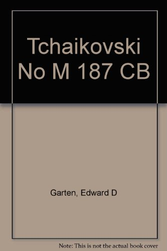 9780822607212: Tchaikovski No M 187 CB