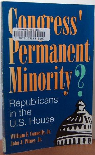 9780822630326: Congress' Permanent Minority?