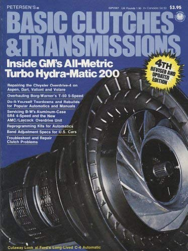 9780822700661: Basic clutches and transmissions (Hot rod magazine technical library)