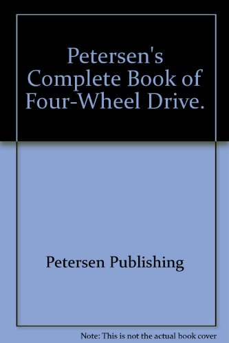 9780822700999: Complete book of four-wheel drive