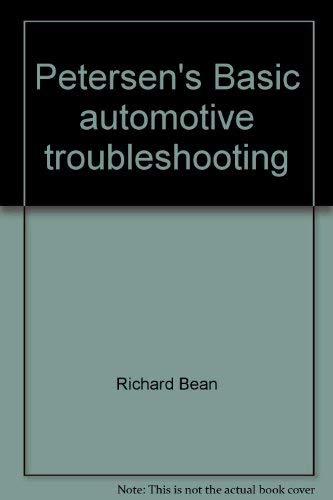 9780822750123: Petersen's Basic automotive troubleshooting