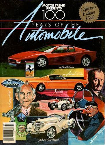 9780822750925: Motor Trend Presents 100 Years of the Automobile (Collector's Edition)