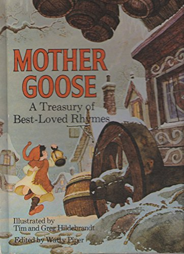 9780822872306: Mother Goose, a Treasury of Best Loved Rhymes