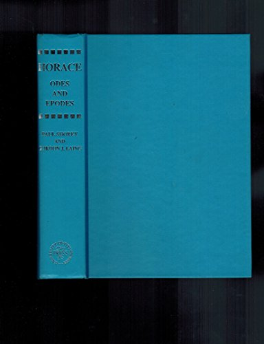 9780822910213: Horace: Odes and Epodes