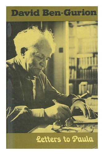 Letters to Paula: Ben-Gurion, David; Ben-Guryon, Peninah