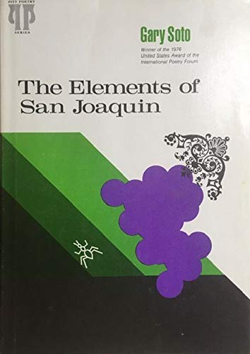 9780822933359: The Elements of San Joaquin (Pitt poetry series)