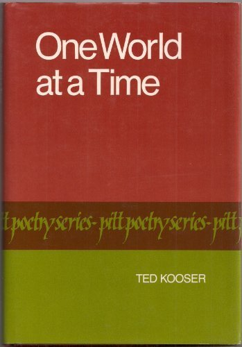 9780822935049: One World at a Time (Pitt Poetry)