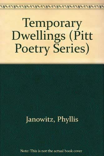 9780822935667: Temporary Dwellings (Pitt Poetry Series)