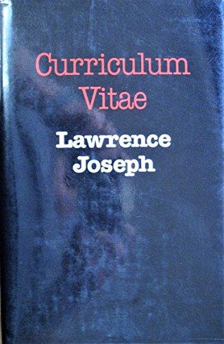 9780822935773 Curriculum Vitae Pitt Poetry Series Abebooks