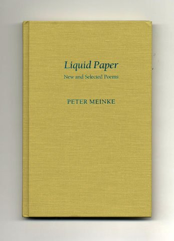Liquid Paper: New and Selected Poems (Pitt Poetry): Meinke, Peter