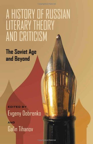 9780822944119: A History of Russian Literary Theory and Criticism: The Soviet Age and Beyond (Pitt Series in Russian and East European Studies)