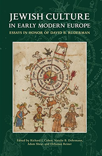 Jewish Culture in Early Modern Europe (Hardback)