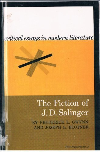 9780822950196: The Fiction of J. D. Salinger