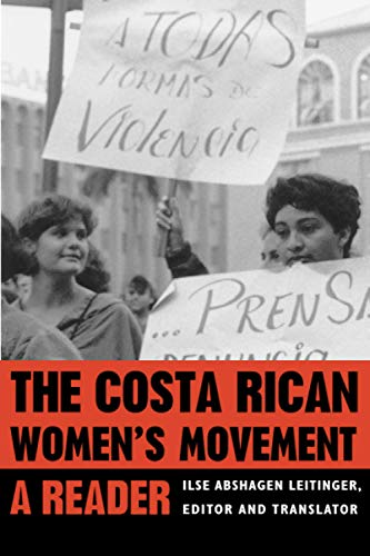 9780822955436: The Costa Rican Womens Movement: A Reader (Pitt Latin American Series)