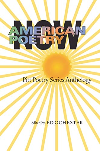 9780822959649: American Poetry Now: Pitt Poetry Series Anthology
