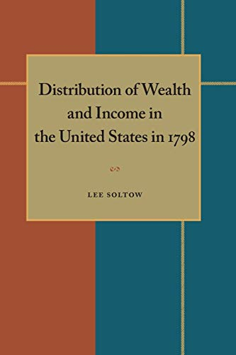 9780822985211: Distribution of Wealth and Income in the United States in 1798