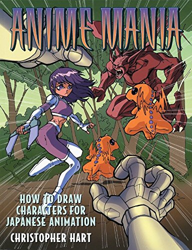 9780823001583: Anime Mania: How to Draw Characters for Japanese Animation (Christopher Hart Titles)