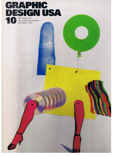Graphic Design USA: 10 (The Annual of: Heller, Steven and