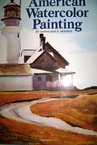 9780823002160: American watercolor painting