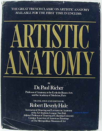 9780823002207: Artistic Anatomy (English and French Edition)
