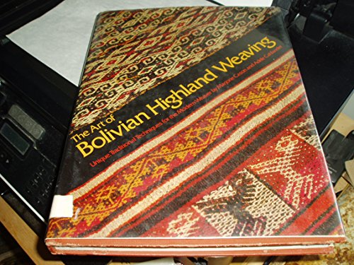 9780823002641: The Art of Bolivian Highland Weaving
