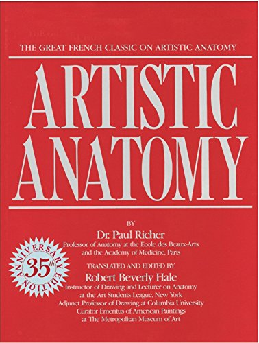 9780823002979: Artistic Anatomy: The Great French Classic on Artistic Anatomy