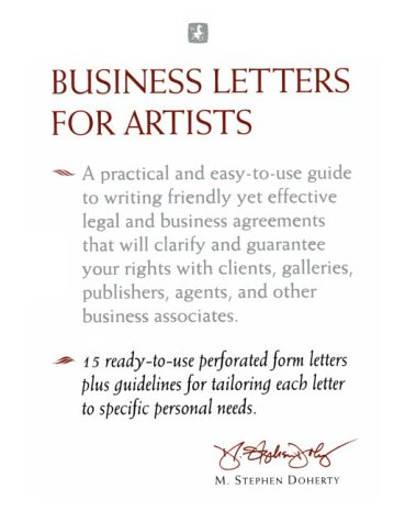 9780823003020: Business Letters for Artists