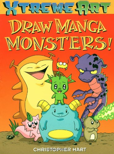9780823003723: Draw Manga Monsters! (XTreme Art)