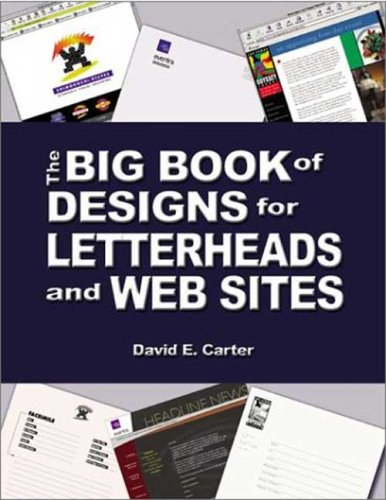 9780823004881: The Big Book of Designs for Letterheads and Websites