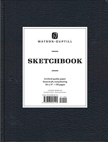 9780823005192: Large Sketchbook (Kivar, Black) (Watson-Guptill Sketchbooks)