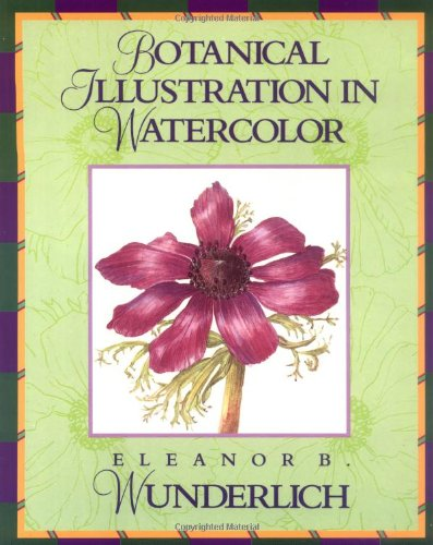 9780823005307: Botanical Illustration in Watercolour (Practical Art Books)