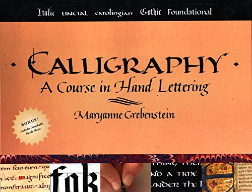 9780823005536: Calligraphy: A Course in Hand Lettering
