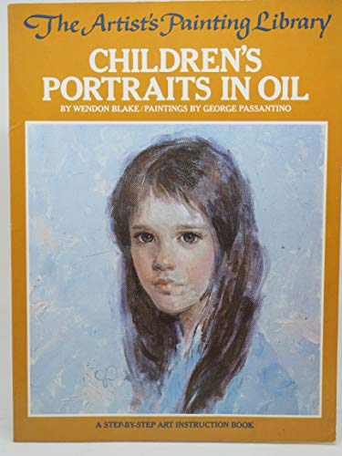 9780823006236: Children's Portraits in Oil (Artist's Painting Library)