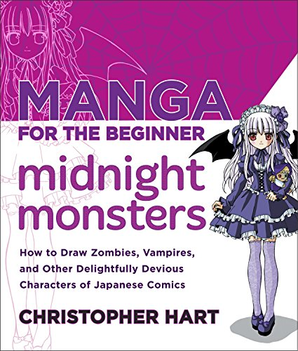 9780823007103: Manga for the Beginner Midnight Monsters: How to Draw Zombies, Vampires, and Other Delightfully Devious Characters of Japanese Comics