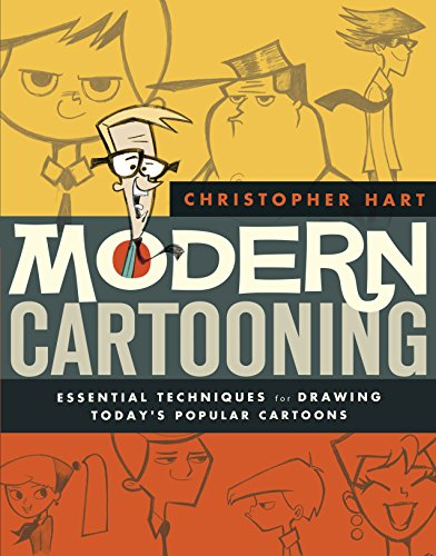 Modern Cartooning: Essential Techniques for Drawing Today's Popular Cartoons (0823007146) by Hart, Christopher