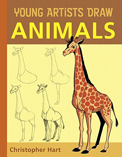 9780823007189: Young Artists Draw Animals