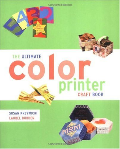 9780823007509: Ultimate Color Printer Craft Book