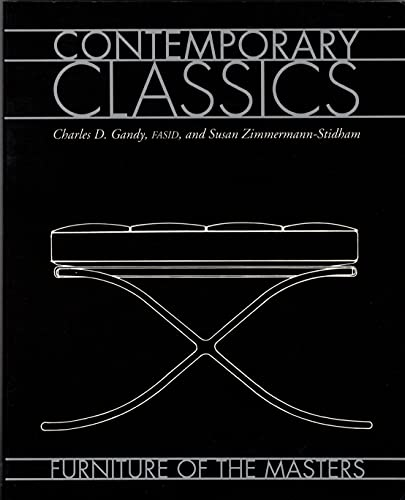 9780823009312: Contemporary Classics: Furniture of the Masters