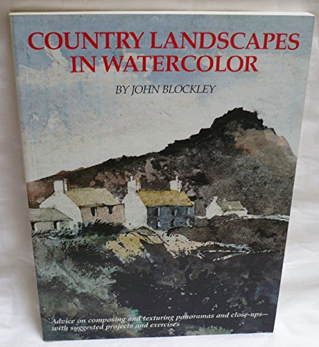 9780823009688: Country Landscapes in Watercolor